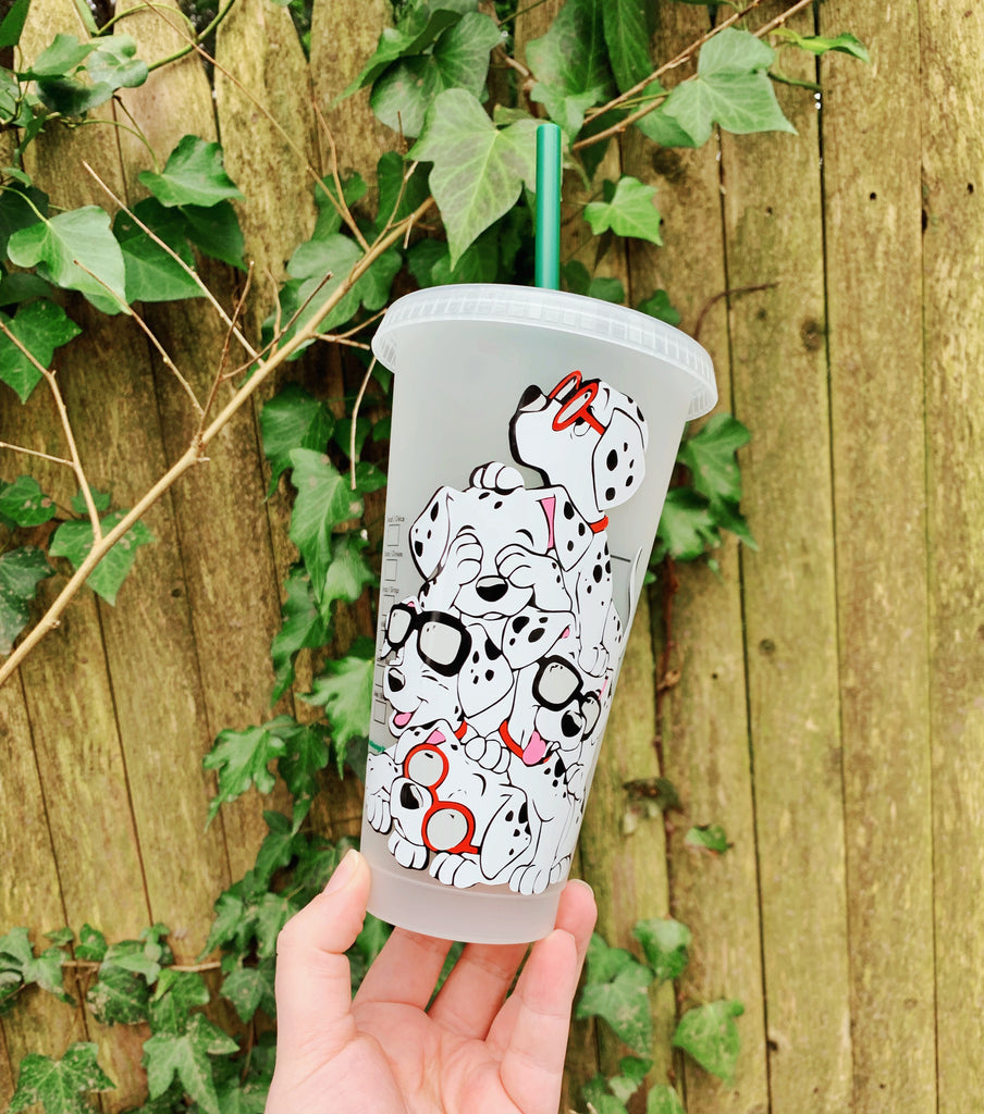 101 Puppy Inspired Cold Cup