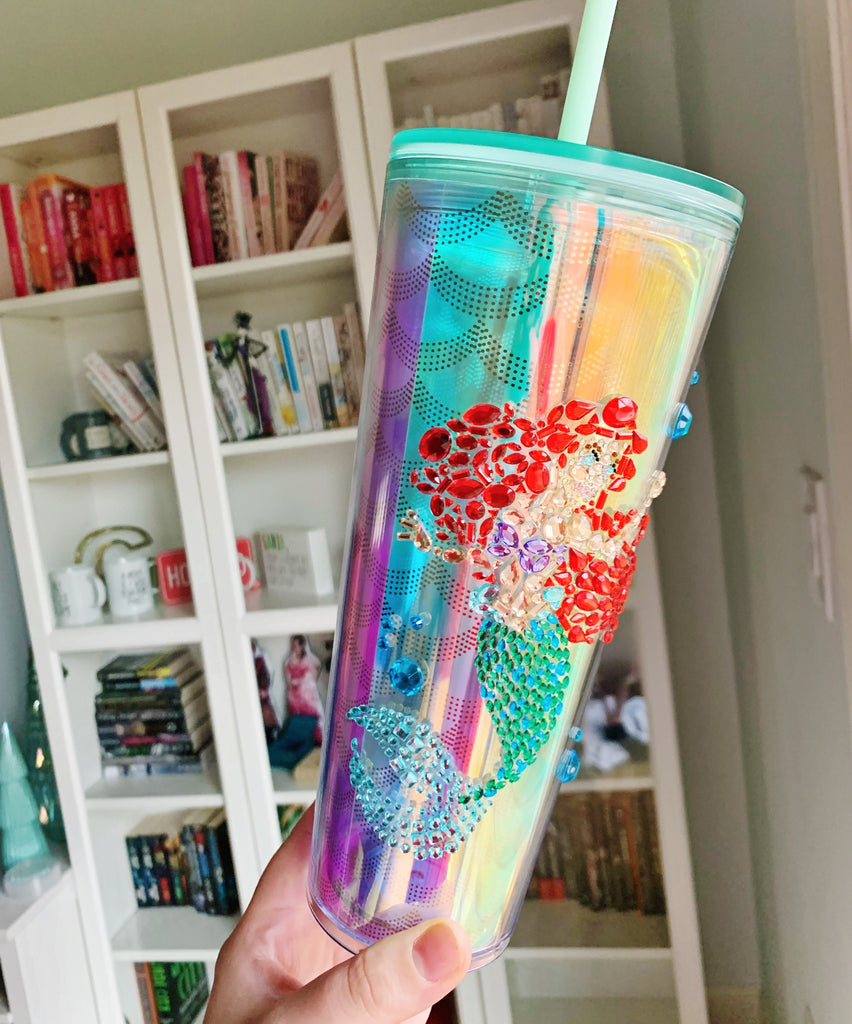 Gem Princess Mermaid Tumbler