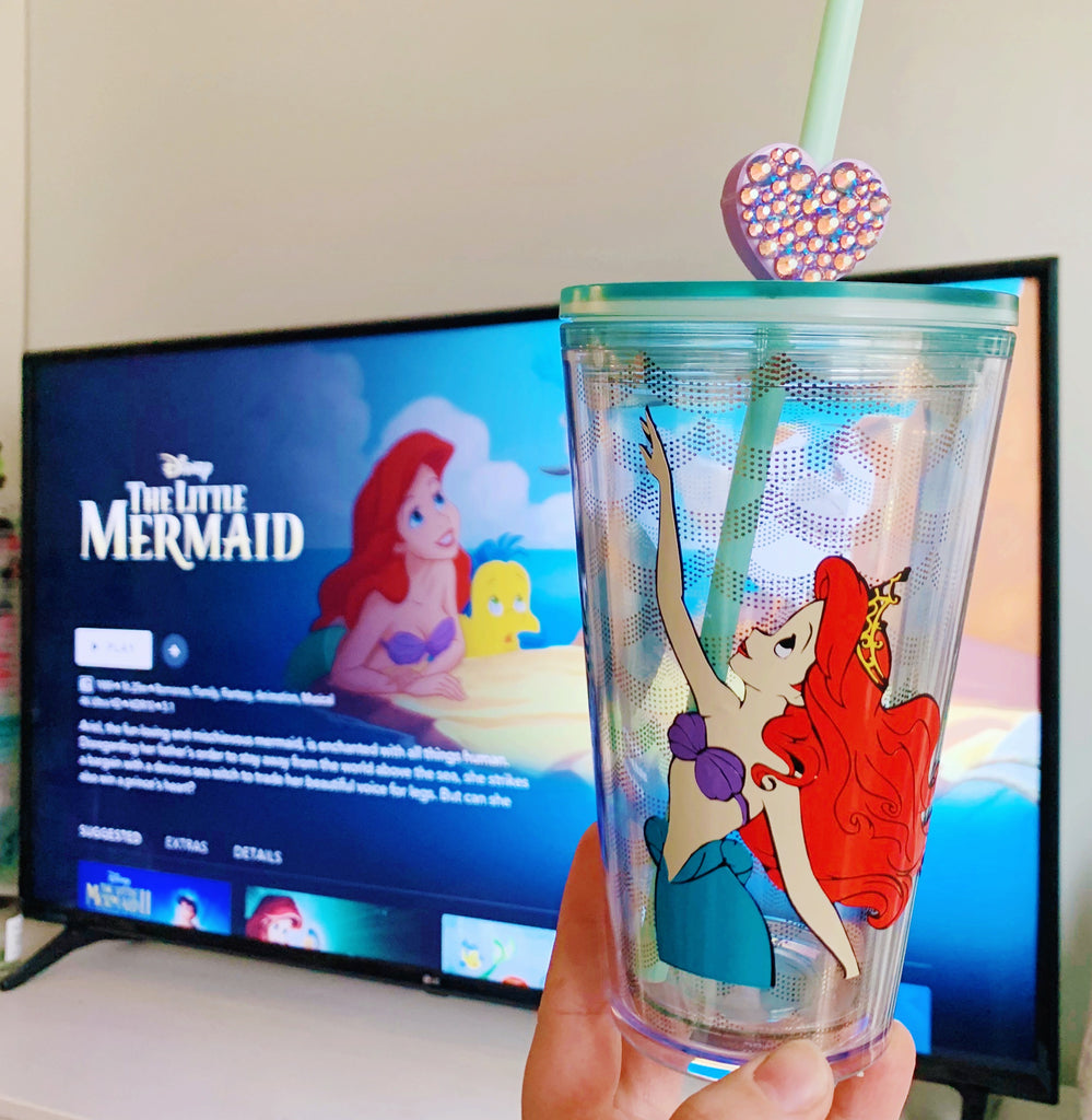 Mermaid Inspired Grande Resuable Tumbler