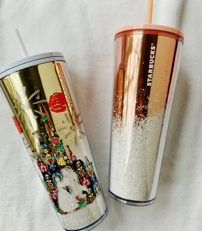 Enchanted Rose Ombre Tumbler