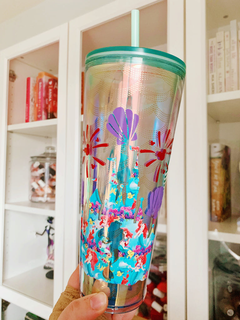 Princess Mermaid Castle Tumbler