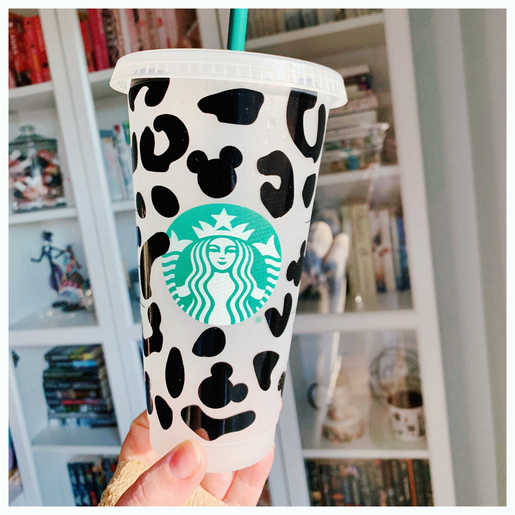 Cheetah Print Cold Cup