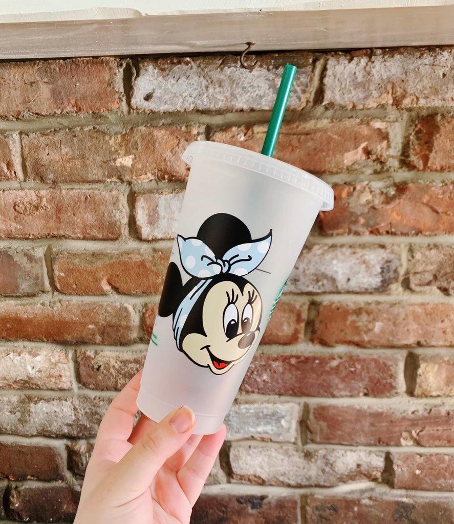 Mouse w/ Bandana Inspired Cold Cup