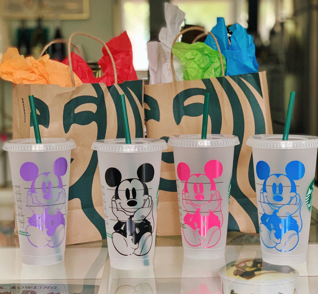 Mouse Inspired Starbucks Reusable Cold Cup