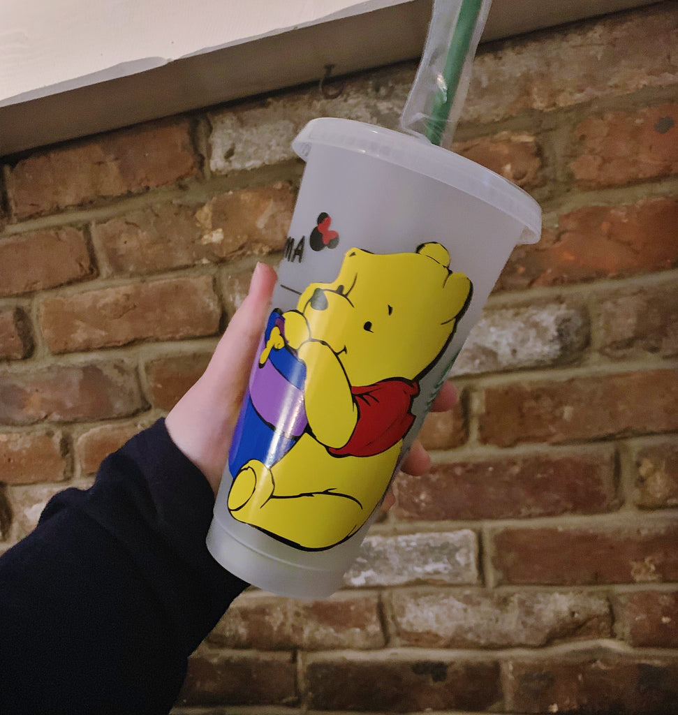 Pooh and Friends Character Inspired Cold Cups