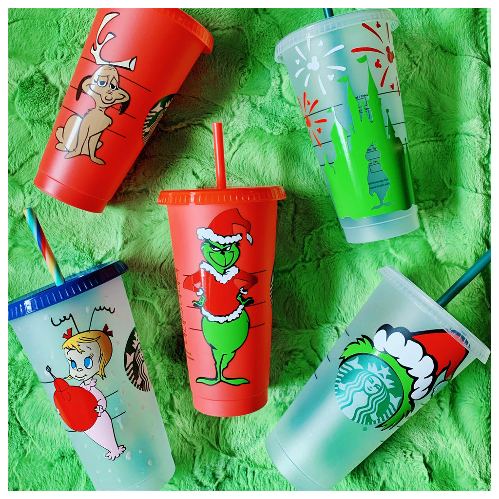 Holiday Personalized Venti Reusable Cold Cups