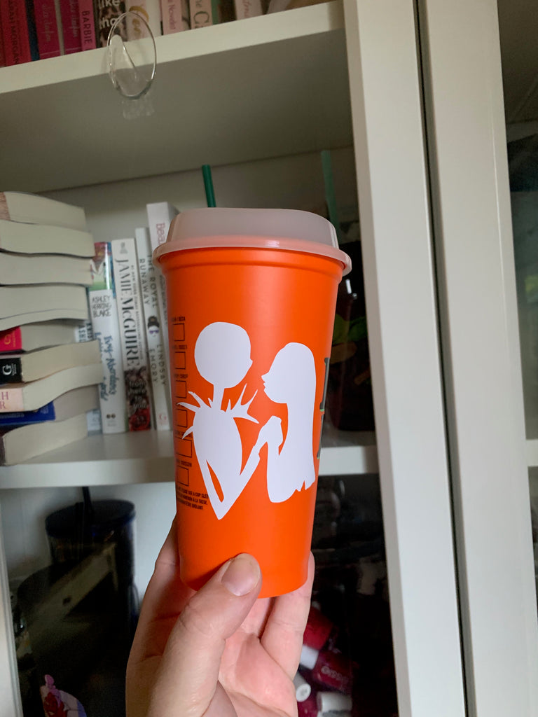 Ready to Ship Hot Cup w/ Glow in the Dark Lid