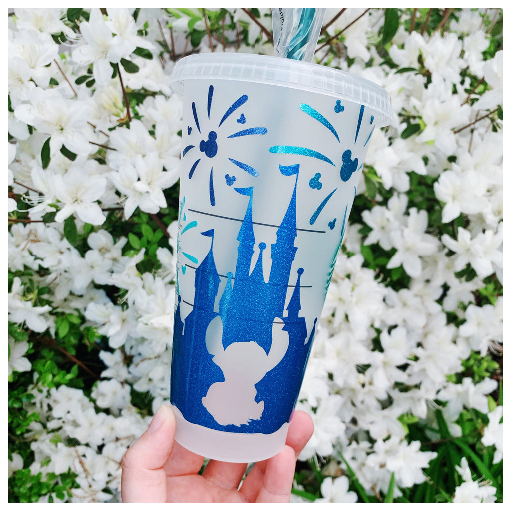 Hawaii Character Blue Castle Cold Cup