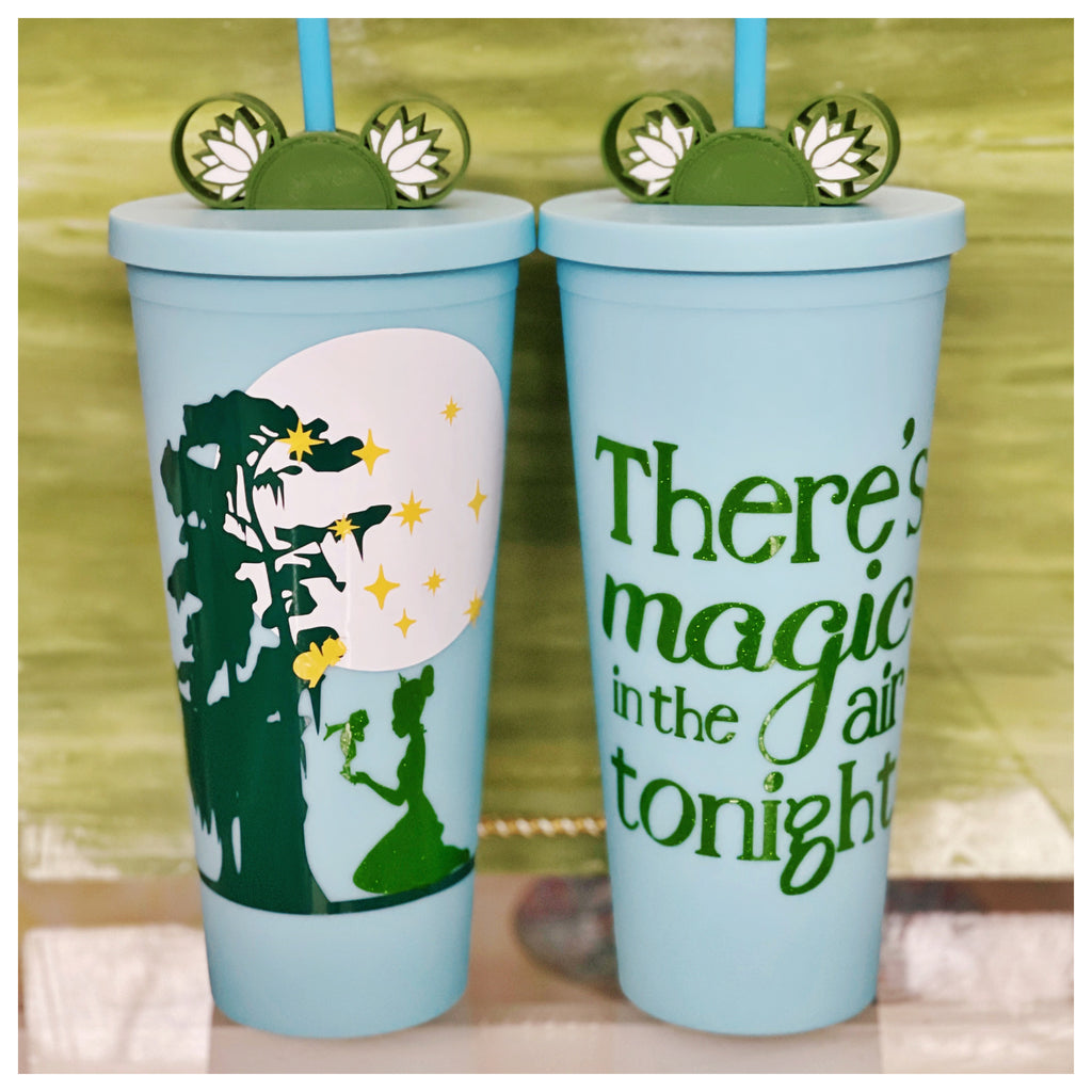 Magic in the Air Tonight Inspired Matte Tumbler INCLUDES matching Straw Buddy