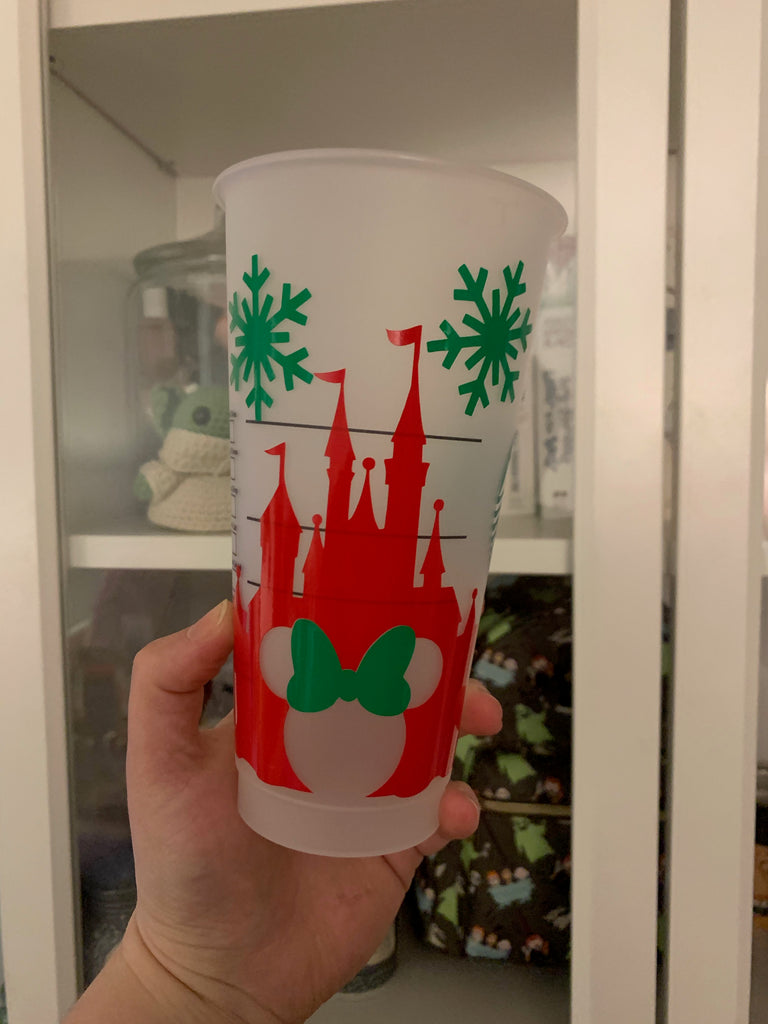 Ready to Ship Holiday Cold Cup