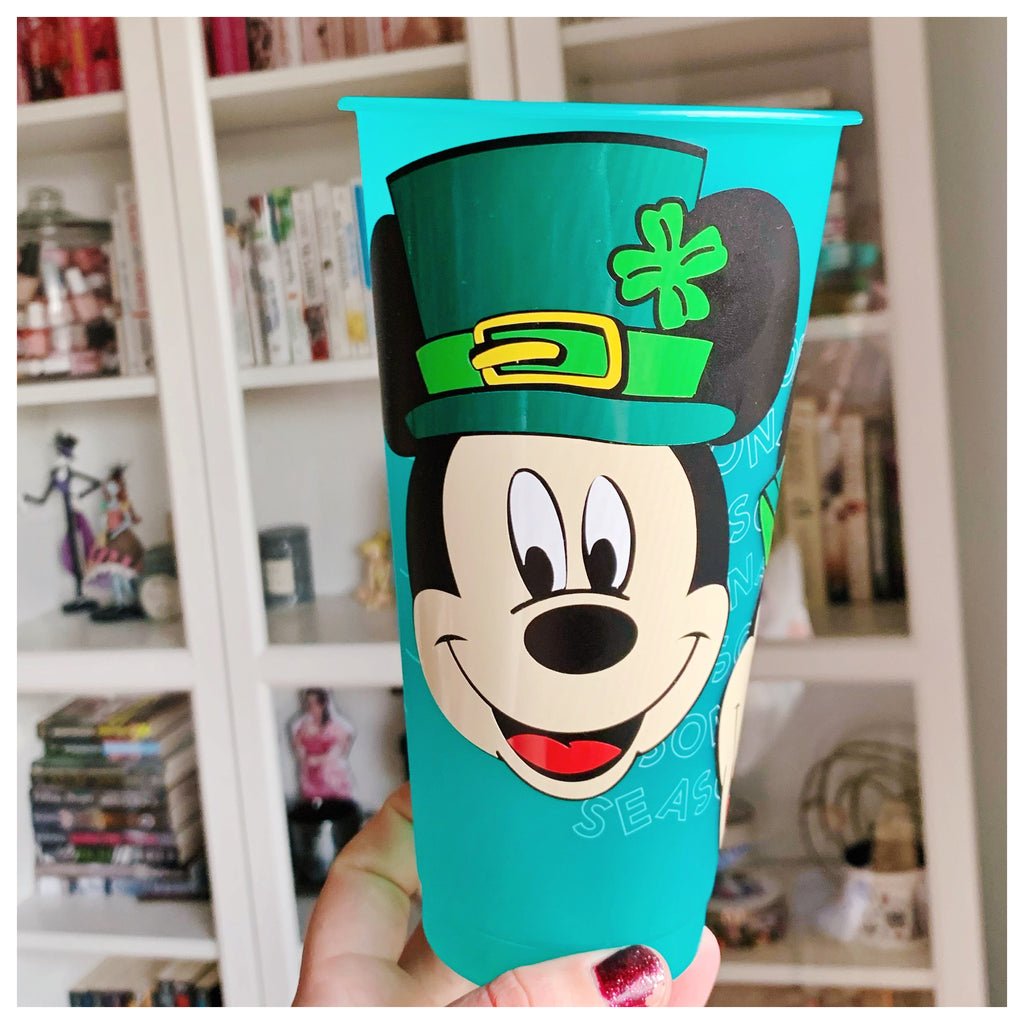 St. Patricks Day Cold Cups