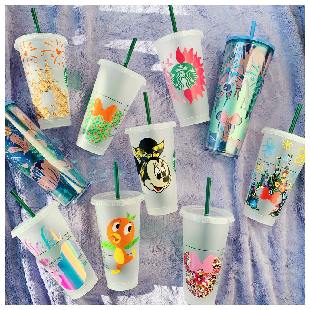 Flower and Garden Inspired Tumblers and Cold Cups