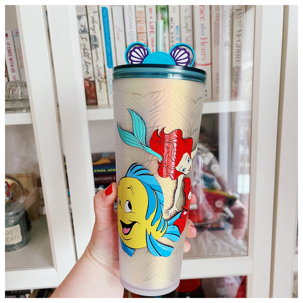 Princess Mermaid and Friends on Mermaid Tumbler w/ Straw Buddy