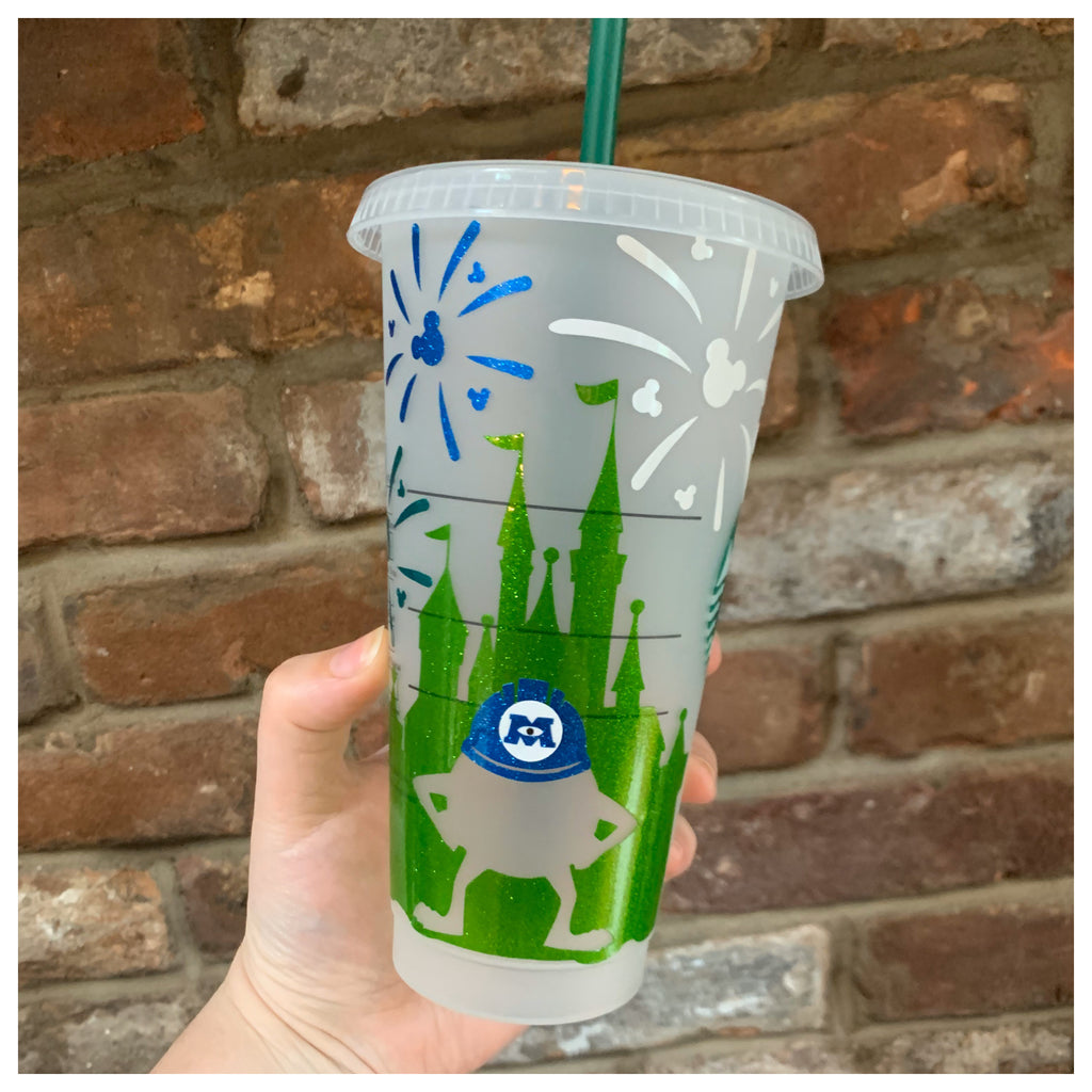 Monster Character Castle Cold Cup