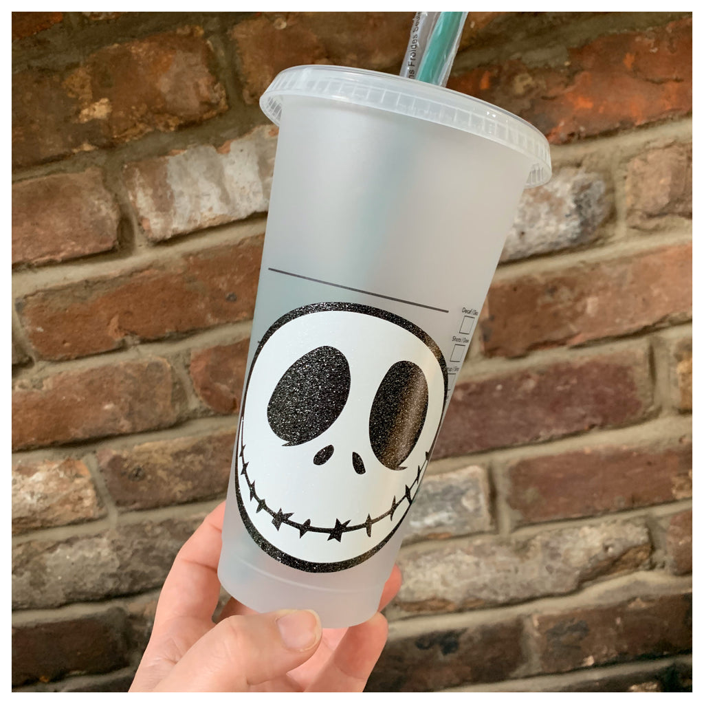 Skellington Character Inspired Cold Cup