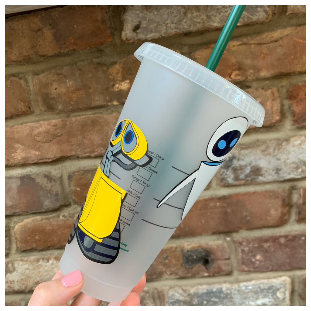 Robot Character Inspired Cold Cup