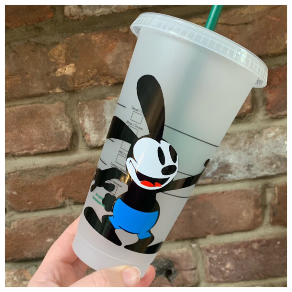 Rabbit Character Inspired Cold Cup
