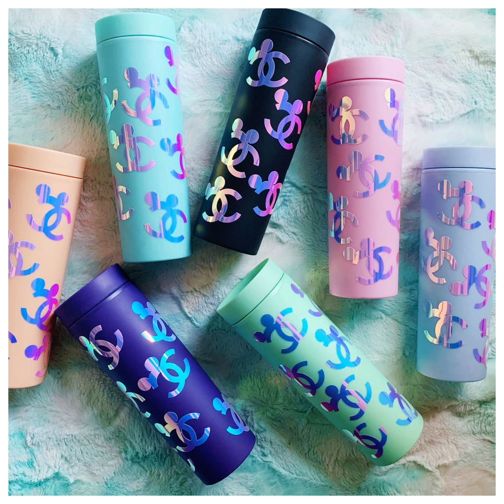 Luxury Inspired 16 oz. Skinny Matte Reusable Tumblers
