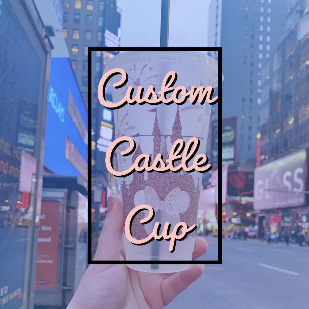 Custom Castle Cold Cup