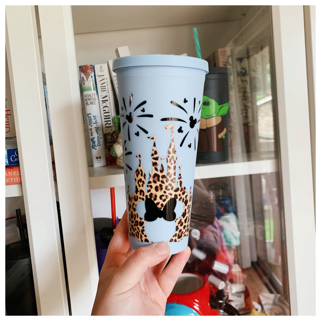 Cheetah Castle Inspired 22 oz. Matte Reusable Tumblers