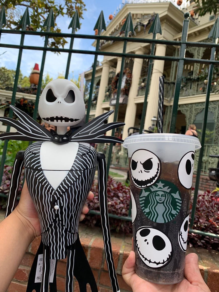 Skellington Faces Inspired Cold Cup