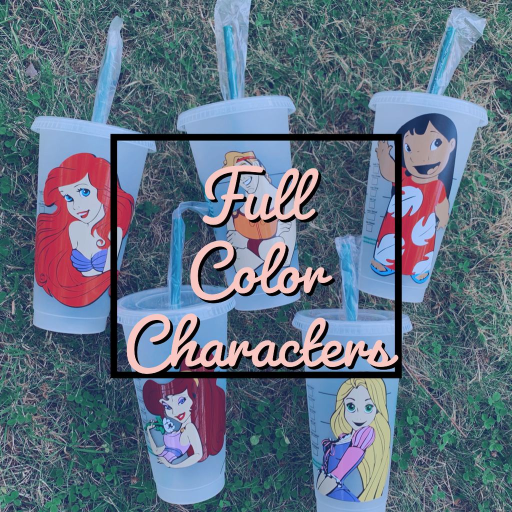 Full Color Character Personalized Cold Cup