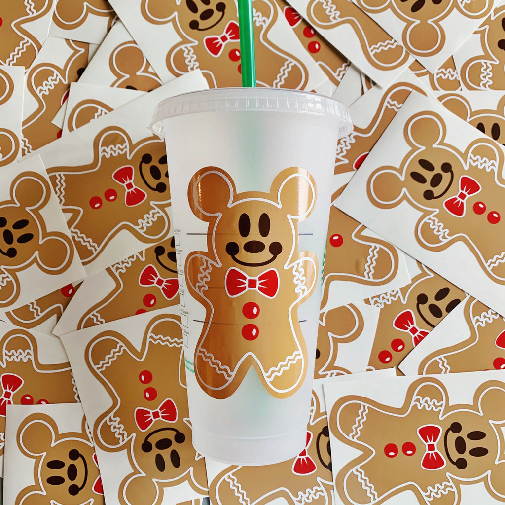 Ready to Ship Gingerbread Cold Cup