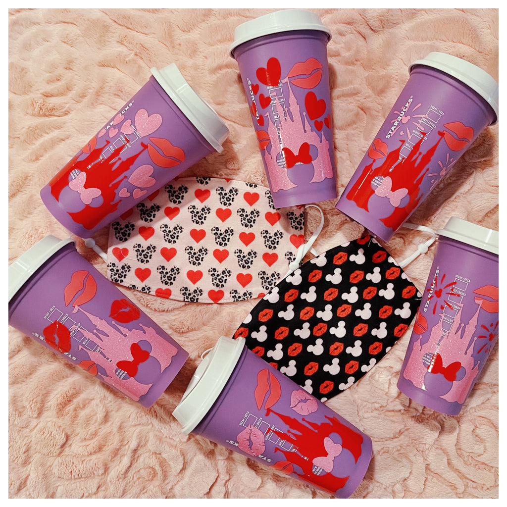 Valentine's Day Hot Cup Mystery Bag and Face Mask