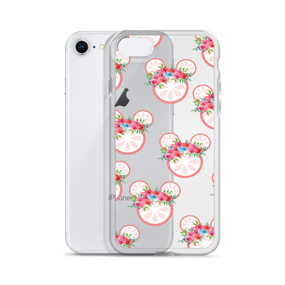 Grapefruit iPhone Case
