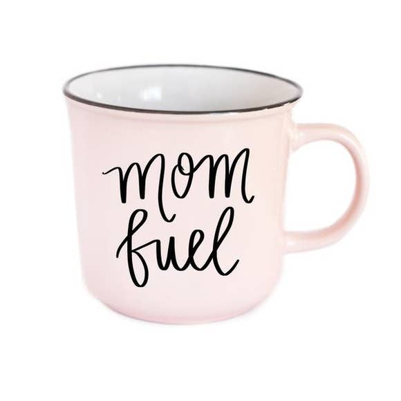 Mom Fuel Campfire Coffee Mug