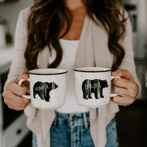 Mama & Papa Bear Coffee Mug Set