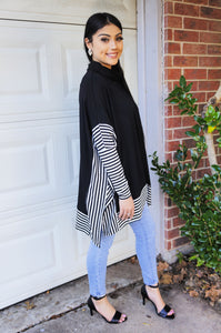 Chilly Days Ahead Pullover Tunic Top