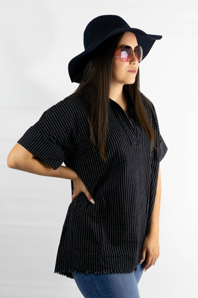 Take me to Paris V-Neck Tunic