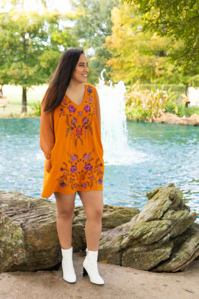 Pumpkin Spice & Everything Nice Dress