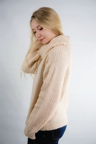 Hallmark Sweetheart Shearling Texture Sweater