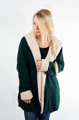 Deck the Halls Shearling Jacket