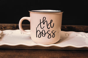 The Boss Campfire Coffee Mug