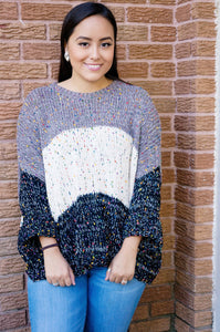 Sunday Funday Fun-Fetti Speckled Sweater