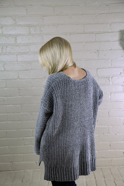 Earl Grey & Rainy Mornings Chenille Sweater