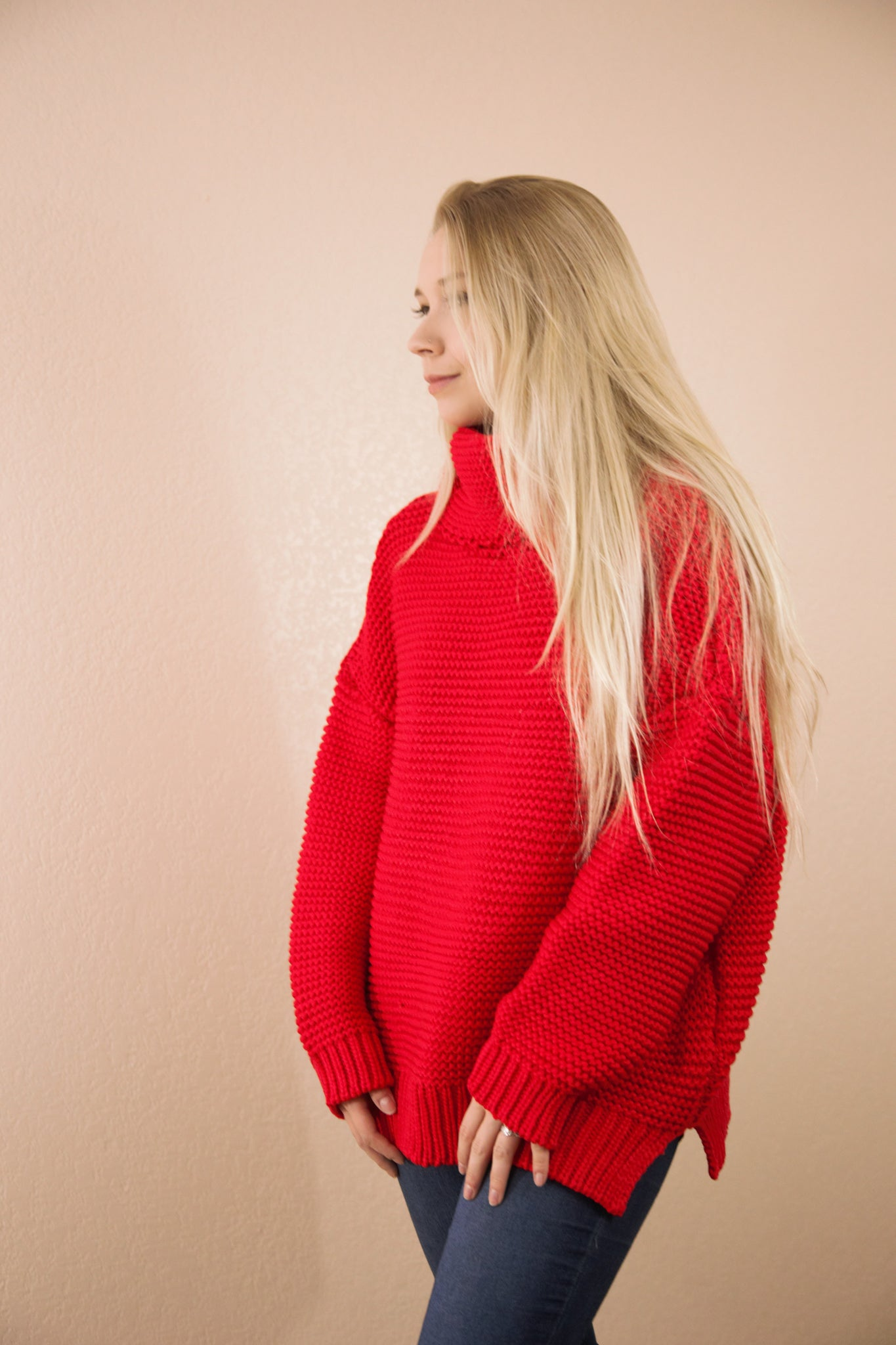 Love Me Like You Do Chunky Knit Sweater