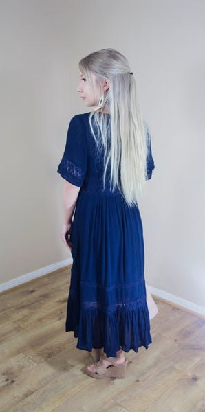 Say I'm a Bird Boho Midi Dress