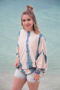 Ocean's Avenue Tie Dye Knit Top