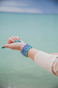 Fair Trade Nepal Roll On Bracelet- The Maldives