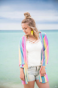Somewhere Over The Rainbow Kimono