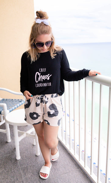 Chief Chaos Coordinator Black Sweatshirt