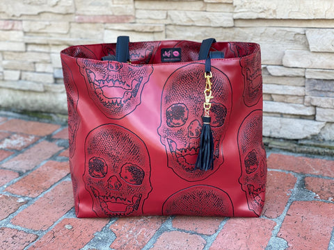 Ruby Rebel Tote by Makeup Junkie