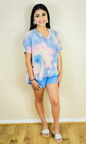 Tie Dye Pick Me Up Set- Cotton Candy