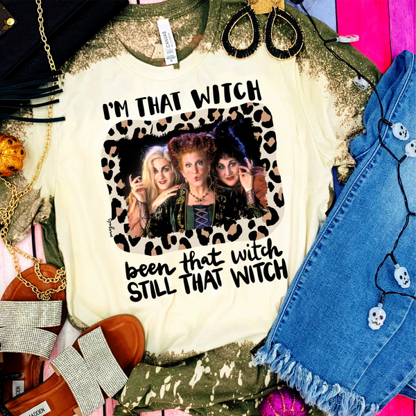 I'm That Witch Halloween Graphic Tee