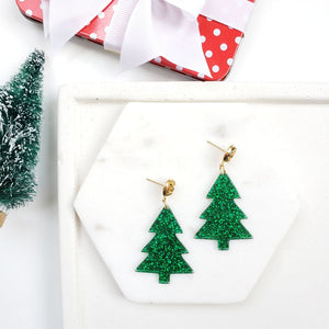 Oh Christmas Tree Earrings