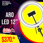 "ARO LED DE 12"" CON BASE"